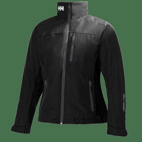 naisten crew midlayer takki musta