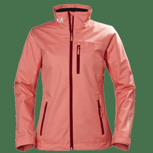 naisten crew midlayer takki pinkki