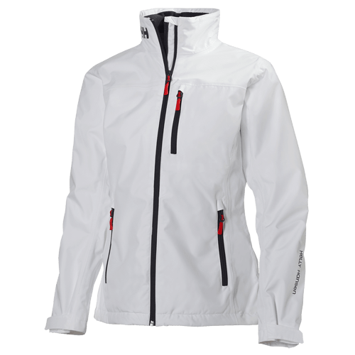 naisten crew midlayer takki valkoinen