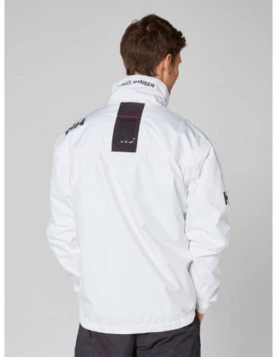 valkoinen crew midlayer takki